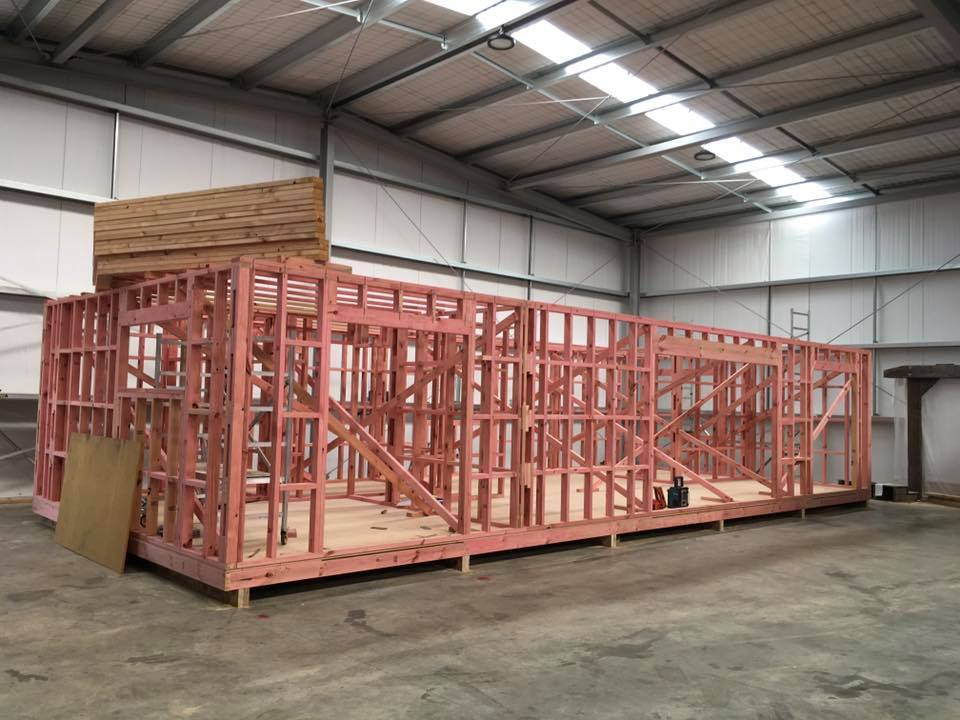 We have developed a streamlined building process